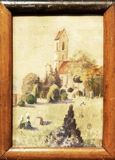 Malerei | Reformierte Kirche Gelterkinden, Südfassade