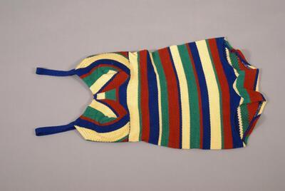 Einteiler (Badebekleidung), Badeanzug, quergestreift, für Damen