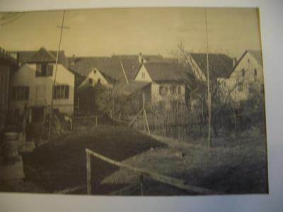 um 1950: Der Engelsaal vor dem Abbruch