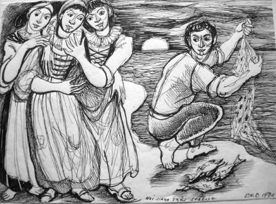Elsy Hegnauer-Denner, La pesche dell'anello
