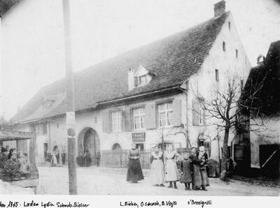 Laden von Lydia Schwob-Bielser Mayenfelserstrasse