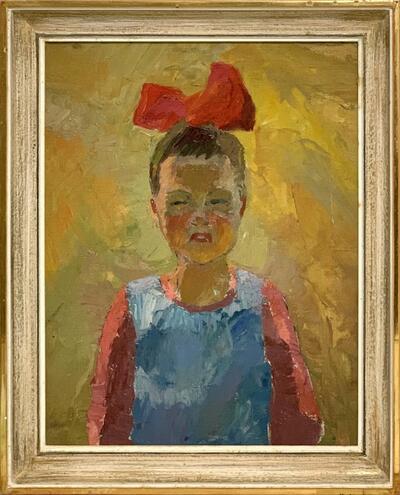 Bild: Ölmalerei | Frau - Porträt