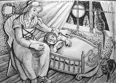 Elsy Hegnauer-Denner, Chara lingua della mamma