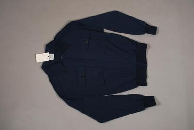 Sportliche Jacke, dunkelblau, langarm, für Herren