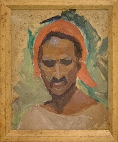 Bild: Ölmalerei | Mann - Porträt, Beduine