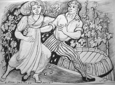 Elsy Hegnauer-Denner, Allons danser ma belle