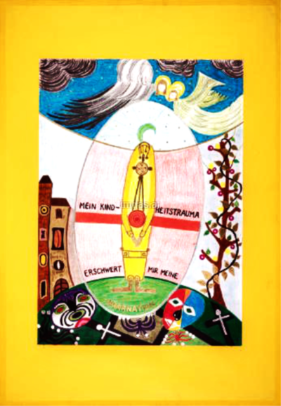 Inkarnation (Therapiebild 15)   Inkarnation