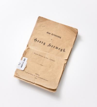 Buch: Eine Erinnerung an Georg Herwegh
