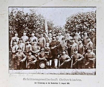 Fotografie   Schützengesellschaft Gelterkinden 1891
