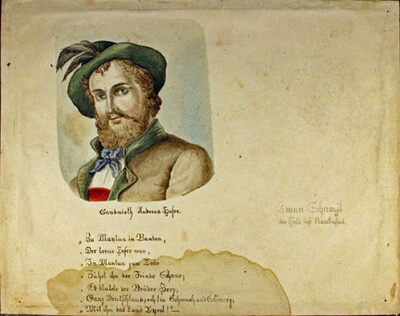 Bildnis Adreas Hofer