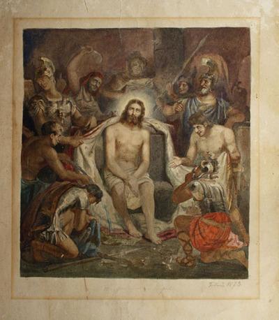 Zeichnung, Christus
