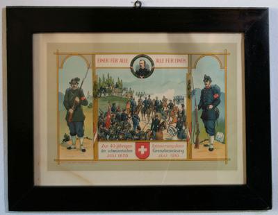 Erinnerung Grenzbesetzung 1870