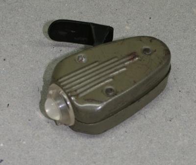 handbetriebene Taschenlampe