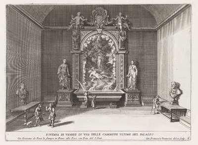 Fontein van Venus in de Villa d'Este te Tivoli