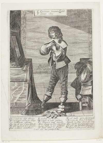 Franse hoveling volgt het edict van 1633