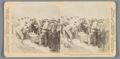 Christmas Presents from home, to the troops with Methuen at Modder River, South Africa