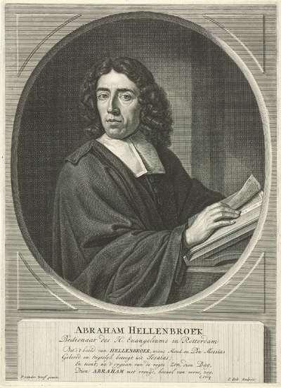 Portret van Abraham Hellenbroek