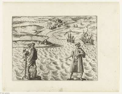 Bestraffing van criminelen op Atjeh, 1603