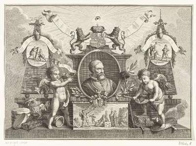 Allegorie op Pieter Adriaansz. van der Werff, 1574