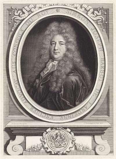Portret van Simeon Joseph Barbot