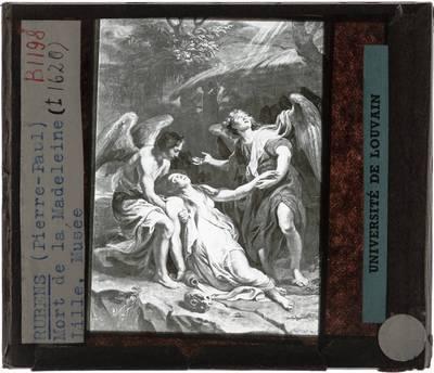 Pieter Paul Rubens. Extase van Maria Magdalena