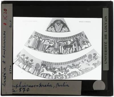 Oud-Grieks aardewerk. Amphiaraosvaas