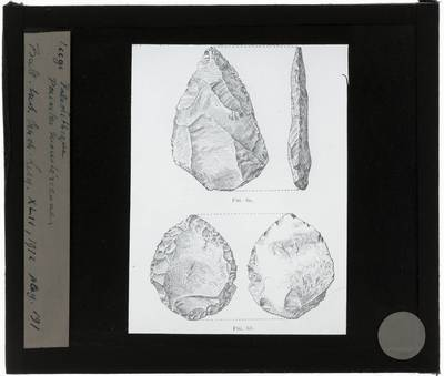 Liège paléolithique. Punten van moestérien