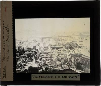Roma antica. Panorama Tekening van Wagner