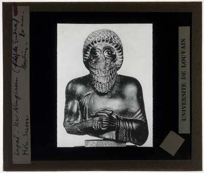 Buste van Ur Ningirsu, zoon van Gudea