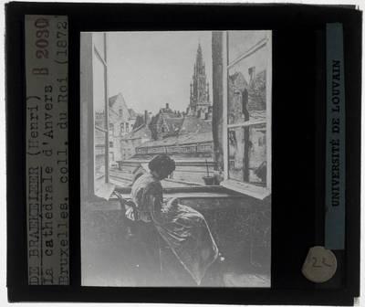 Henri de Braekeleer. De kathedraal van Antwerpen