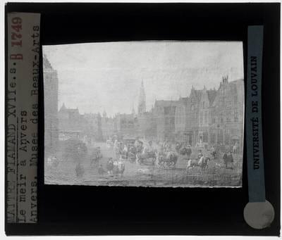 Erasmus de Bie. De Meir te Antwerpen