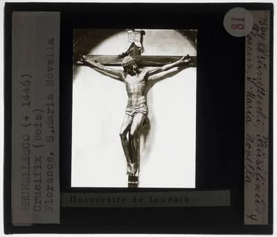 Filippo Brunelleschi. Crucifix