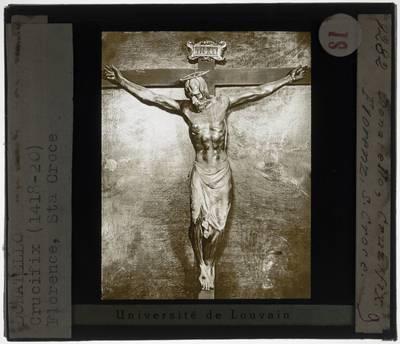 Donatello. Crucifix