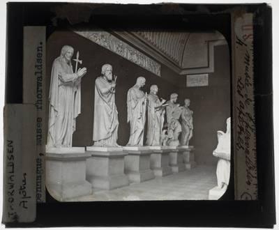 Bertel Thorvaldsen. Apostelen, ontwerp voor marmeren beeld in de Vor Frue Kirke in Kopenhagen