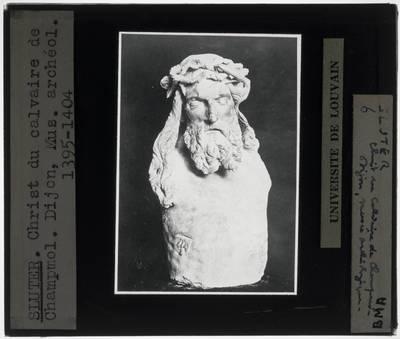 Claus Sluter. Mozesput Detail: Christus, restant van een crucifix