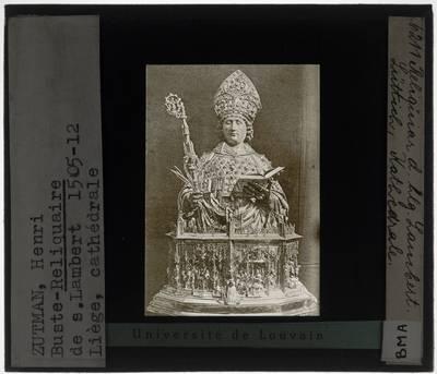 Hans von Reutlingen (toegeschreven). Reliekbeeld van de Heilige Lambertus