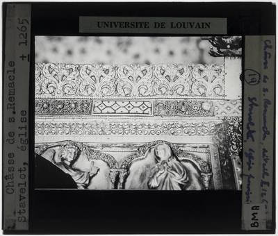 Schrijn van Saint-Remacle van Stavelot Detail