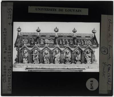 Schrijn van Saint-Remacle van Stavelot Lange zijde