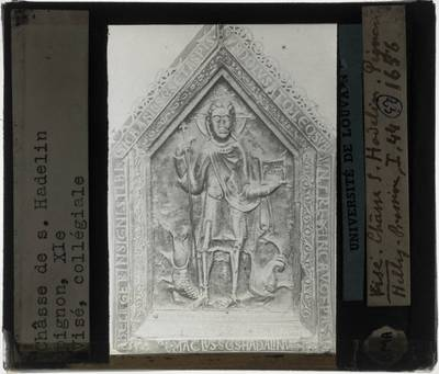 Schrijn van Hadelinus van Celles Korte zijde 2
