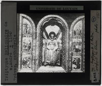 Triptiek, reliekschrijn, van Sint-Andreas