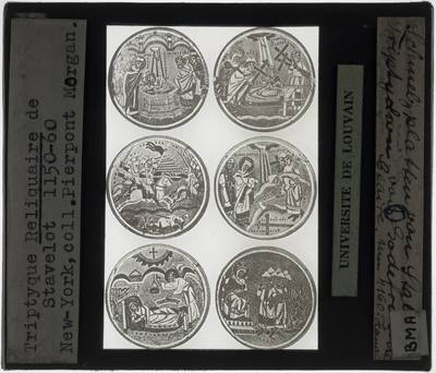 Triptiek van Stavelot Detail: Zes medaillons