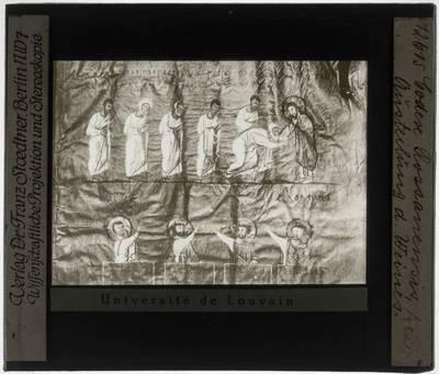 Codex purpureus Rossanensis Miniatuur: Aanstelling van de apostelen