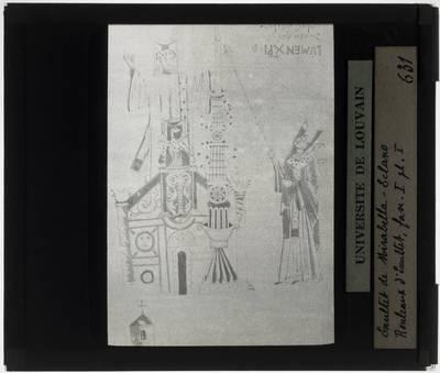 Exsultet uit Mirabella Eclano Fragment