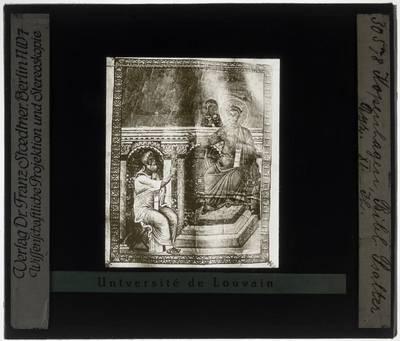 Miniatuur uit een Byzantijnse bijbel