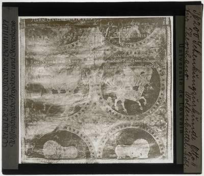 Huwelijksakte van Otto II met keizerin Theophano Detail