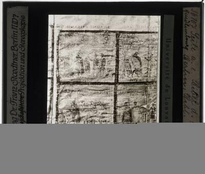 Miniatuur uit een (Zuidlimburgse ?) bijbel