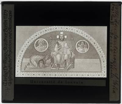 Pantokrator met Keizer Leo VI van Byzantium :