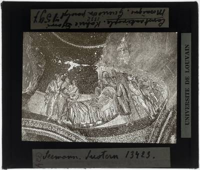 De genezing van een verlamde in Capernaum