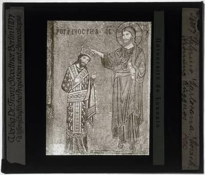 Kroning van Ruggero II di Sicilia