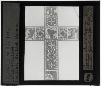 Kruis met vijf taferelen uit het Oude Testament